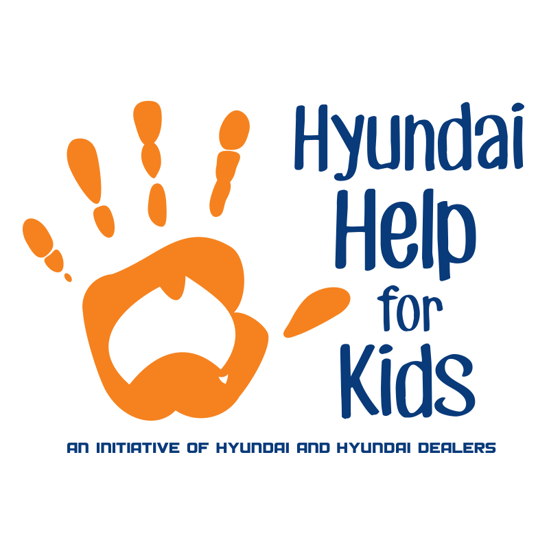 Hyundai help for kids logo
